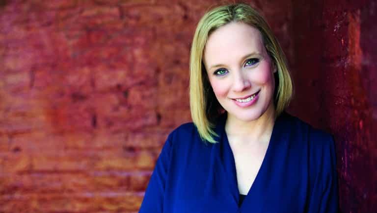 Kirsten O'brien Close Up Blue Top