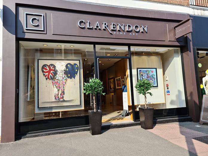 Clarendon Fine Art Beaconsfield Features A Mix Of Modern Post War And Contemporary Art