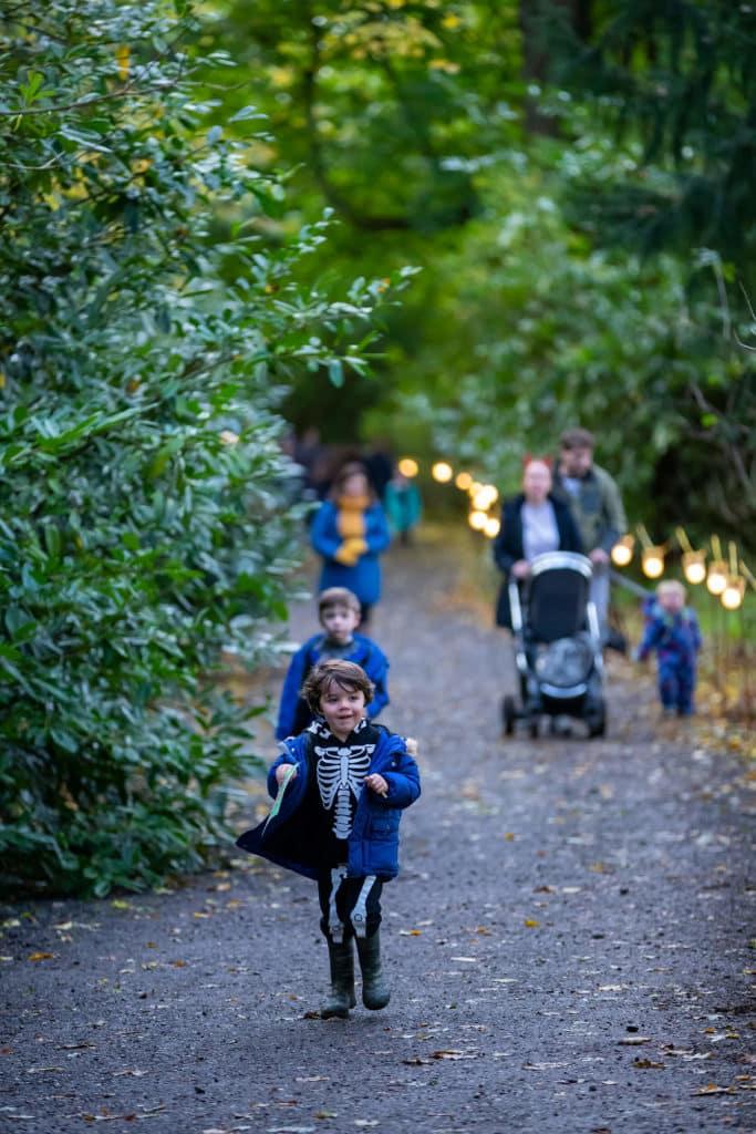 Waddesdon Halloween Trail. Photo Chris Lacey C Waddesdon A Rothschild House Gardens