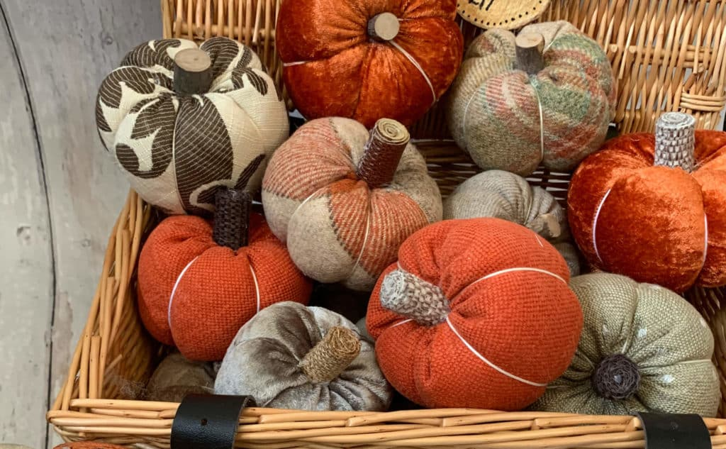 Hand-crafted pumpkins can be found at the Chiltern Made Craft Fair